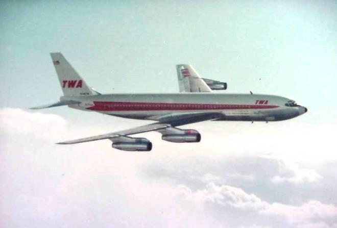 TWA BOEING 707-131B