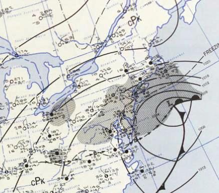 March_19,_1956_nor'easter_weather_map